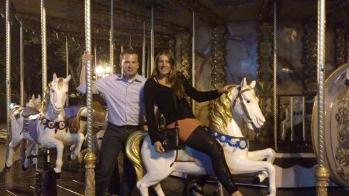 Jag och Eric Thelen (The Netherlands) utanför casinot i Ax-Les-Thermes